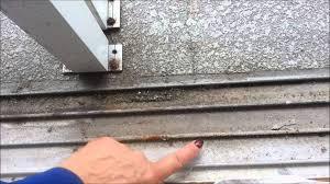 fix a sliding screen door that sticks