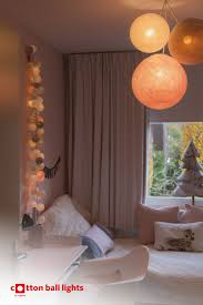 Kidsroom Decoration Fairy Lights Of Cotton Ball Lights Childrens Bedroom Lighting Kids Room Lighting Bedroom Light Fixtures