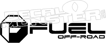 Fuel Off Road Decal Sticker Decalmonster Com
