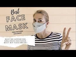 easy diy face mask designed by engineer