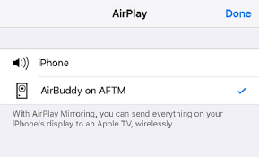 fire tv stick using airplay