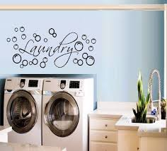 Laundry With Bubbles Wall Or Window Decal Etsy