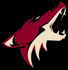 Phoenix Coyotes Mascot Logo Vinyl Decal Sticker 5 Sizes Sportz For Less