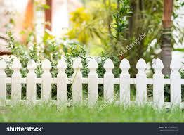 Small Garden Fence Stock Photo Edit Now 772384075