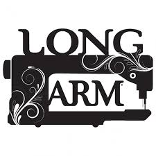 Vinyl Window Decal Long Arm Sewing Machine Quilting Books Patterns And Notions