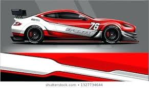 Sports Car Decals Racing Graphics Stickers Auto Body Custom For Windows Two Si Stcgrupo