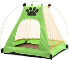Amazon Com None Kennel Go Out Portable Large Dog Cage Tent Travel Outdoor Pet Supplies Small And Medium Sized Dog Fence Foldable For Dogs 4 Colors Green Pet Supplies