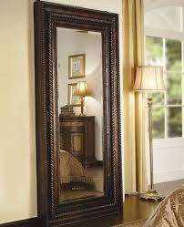 floor mirror with beautiful brown color