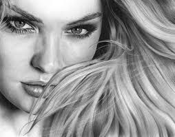 CANDICE SWANEPOEL PENCIL DRAWING, by Artist Sophie Lawson