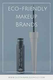 susnable and eco friendly makeup 14