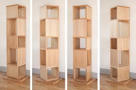 swivel bookcase mirror rotating swivel