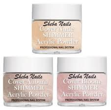 cover shimmer color acrylic powder