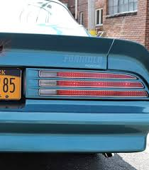 1977 1978 Firebird Formula Pontiac Rear Spoiler Name Decal