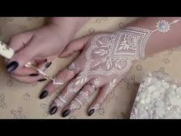 diy white henna supplies how to