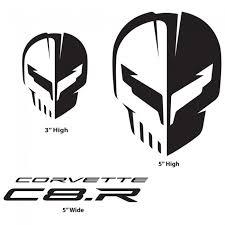 Corvette Racing C8 R Black Decal Pack