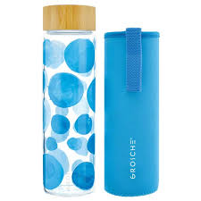 venice best glass water bottle with