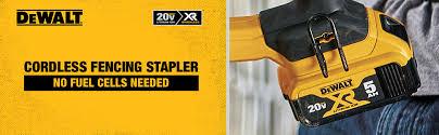 Dewalt Dcfs950p2 20v Max Xr 9 Ga Cordless Fencing Stapler Kit Amazon Com
