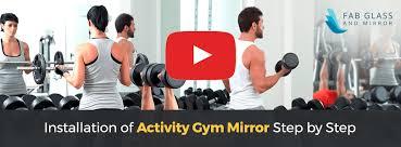 mirrors home gym wall mirror