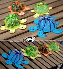 20+ Cool Plastic Bottle Recycling Projects For Kids | Turtle ...