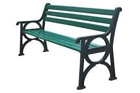 3 seater garden outdoor cast iron bench