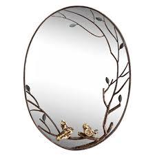 spi home bird branch wall mirror l