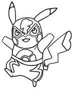 Kleurplaten Pikachu Morning Kids