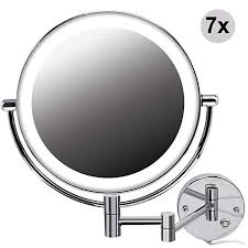 8 5 inch led makeup mirror wall mount