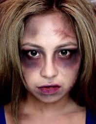 easy way to make zombie makeup