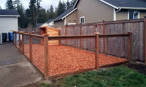 Pin On East Olympia Kennel With Cedar Chips
