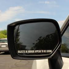 Objects In Mirror Decal Fastwrx Com