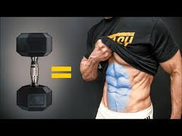 the best dumbbell exercises abs