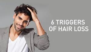 6 most common triggers of hair loss