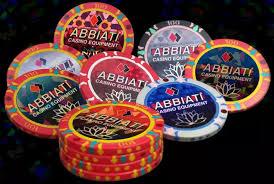 Italian Quality & Design | Gaming Equipment | Chips | Roulettes | Tables | ABBIATI CASINO EQUIPMENT