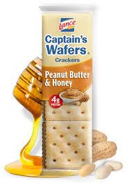 capn s wafers peanut er honey