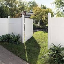 Veranda White Vinyl Fence Bracket Kit 2 Pack 116058 The Home Depot