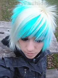 emo boys with colored hair yfashion