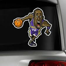 Kobe Bryant Lakers Black Mamba Car Decal Indoor Outdoor Large 11 Inch Decal Ebay