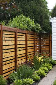 Horizontal Privacy Fence Ideas Decoredo