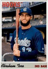 Amazon.com: 2019 Topps Heritage Minor League #71 Abraham Toro Corpus  Christi Hooks Baseball Card: Collectibles & Fine Art