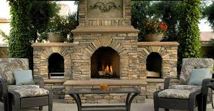 chimney outdoor patio covered fireplace