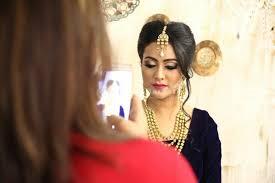 beauty spot bridal makeup artist in