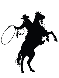 Cowboy Horse Western Animal Vinyl Decal 21x21 Southwestern Wall Decals By Design With Vinyl