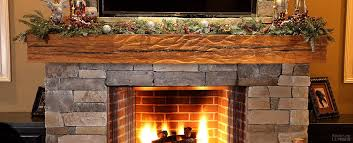 reclaimed wood fireplace mantels