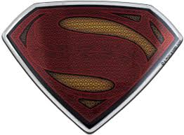 Amazon Com Fan Emblems Batman V Superman Dawn Of Justice Domed Chrome Car Decal Superman Logo Arts Crafts Sewing