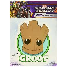 Guardians Of The Galaxy Window Decal Marvel