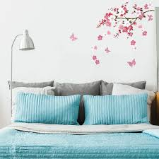 Shop Plum Blossom Pattern Wall Sticker Removable Art Decal For Bedroom Living Room Overstock 29527089