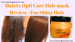 matrix opti care hair mask review for