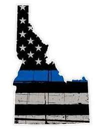 Idaho State U13 Cop Thin Blue Line Vinyl Yeti Tumbler Decal Sticker Ebay