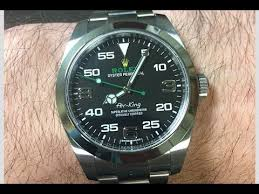 The Rolex Air-King Is Ugly? Air-King 116900 Review - YouTube
