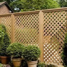 Image Result For Trellis Fencing Panels B Q Lattice Fence Fence Design Trellis Fence